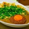 荻窪の「吉田カレー」でMIX甘口多め(キーマW、中華アチャール、チーズ、ネギ増量)。