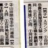 中日新聞 結果掲載(市長杯シングルス大会)