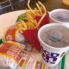 McDonaldから明智光秀の首塚。
