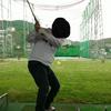 【ゴルフ】スマホスタンドを買って練習。切り返しのアウトサイドインを直したい。
