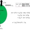 気球が持ち上げることのできる質量 体積が大きければ...