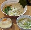 魂麺@本八幡 3/18限定 春きゃべつのあっさり塩つけ麺