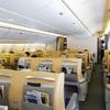 ANAの777ビジネスクラス(旧式ライフラット)搭乗記【北京ー羽田】