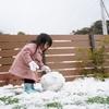 初めての雪遊び!!