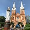 工事中だったサイゴン大聖堂(聖マリア大聖堂)【ベトナム ・ホーチミン旅行】