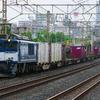6月25日撮影 東海道線 平塚~大磯間 貨物列車3本撮影 3075ㇾ 5095ㇾ 2079ㇾ