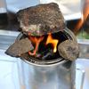 SOLOストーブを手本に作った自作のネイチャーストーブとメスティン&ニトスキでお昼ご飯