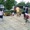 福島県「さくら湖自然観察ステーション」にて遊び場活動を開催