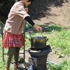 もしかしたら、鋳鉄かまどは日本製のウッドガスストーブ?