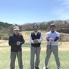 今日は春うららの中でのゴルフ!