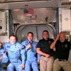 California's SpaceX  Crew Dragon Docks to Space Station