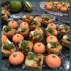 「かぼちゃの米粉ケークサレ、チョリゾのジャム」優美ロンドン・青山販売会フィンガーフード