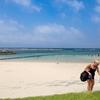 青空のサンセットビーチ