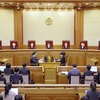 朴大統領の罷免を決定…韓国憲法裁、全員一致