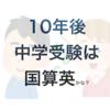 (雑記)英語入試の「お値打ち」中学校 〜10年後は国算英が主流!?(後編)