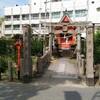 平野区の宇賀神社へ
