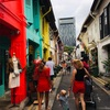 Day 5 in Singapore 【3】(写真映えする街並み!カラフルなハジレーン)