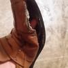革靴から開放