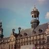 モンス市庁舎のファサード(ベルギー・ワロン地域)