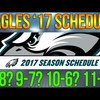 EAGLES SCHEDULE RELEASE TALK + FULL 16 GAME PREDICTIONS