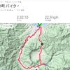 自転車58kmの後にラン10km