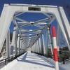 北海道 美瑛町 ブルーリバー橋 / ここに来る人はあまり居ない