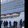クルーズ船 下船した人たちへの対応疑問視 海外メディア