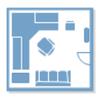 オフィスレイアウトソフト - テンプレートから設計を始める