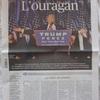 【トランプ勝利】フランス各紙の驚きと絶望