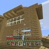 マイクラで砂漠の港を作りはじめたよー!