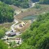 新名神高速道が開通して新しいウオーキングコースができた
