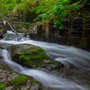 美深町仁宇布の十六滝~激流の滝・雨霧の滝・女神の滝【2020年6月撮影】