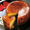 フレンチレストランの本格派チーズケーキ