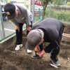 菜園プロジェクト 野菜の種を植えました