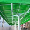 【通路テント】鮮やかな生地屋根で通路や階段を鮮やかに!