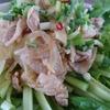 レモンの香り豊かな豚しゃぶサラダ、その味付けはこちらですよ~(^^♪