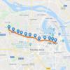 ハノイ都市鉄道3号線の路線図と完成予定時期