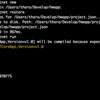 Mac で ASP.NET Core を動かしてみた