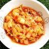レッドレンティルのトマト昆布スープ