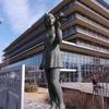 彫刻放浪:袖ケ浦体育館の舟越保武など