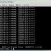 大容量ハードディスク(3Tバイト)にbadblocksの破壊テストをかけた