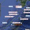【地震】鹿児島湾でM4.5の地震~台風3号・5号が震源を迂回?+リシルさんが予言していた?