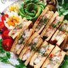 高野豆腐がパン代わり!タイ風海老トーストの高野豆腐サンド【カノムパンナークン】
