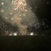 フランスの花火を真横・真下から観る