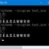 Chez Scheme でコンソールに日本語を出力する