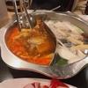 韓国で火鍋!