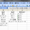 Excel でリストに要素が含まれているか判定する