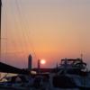 日の出から晴天