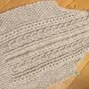三國さんの「アランのカーディガン」編み始めました