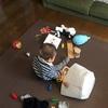 【実例】10ヶ月の赤ちゃんのおもちゃ、いちばんラクな収納はこれだと思う。